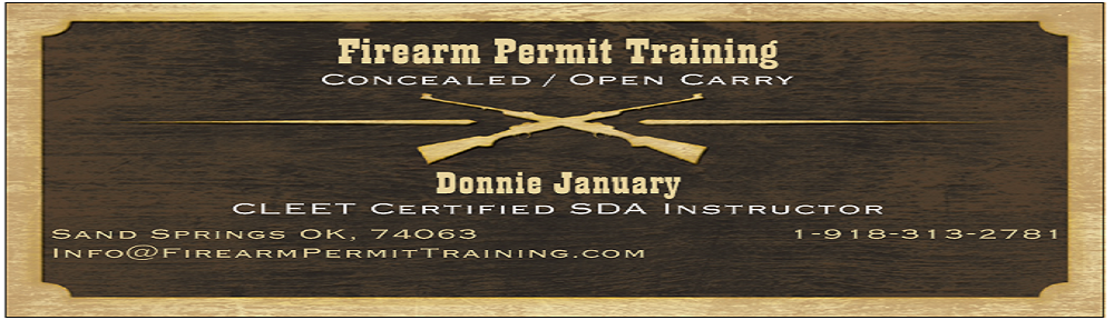 Firearm Permit Training